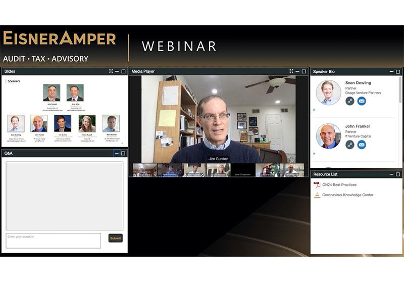 Jim Gunton panelist on How Will VCs React to COVID-19?