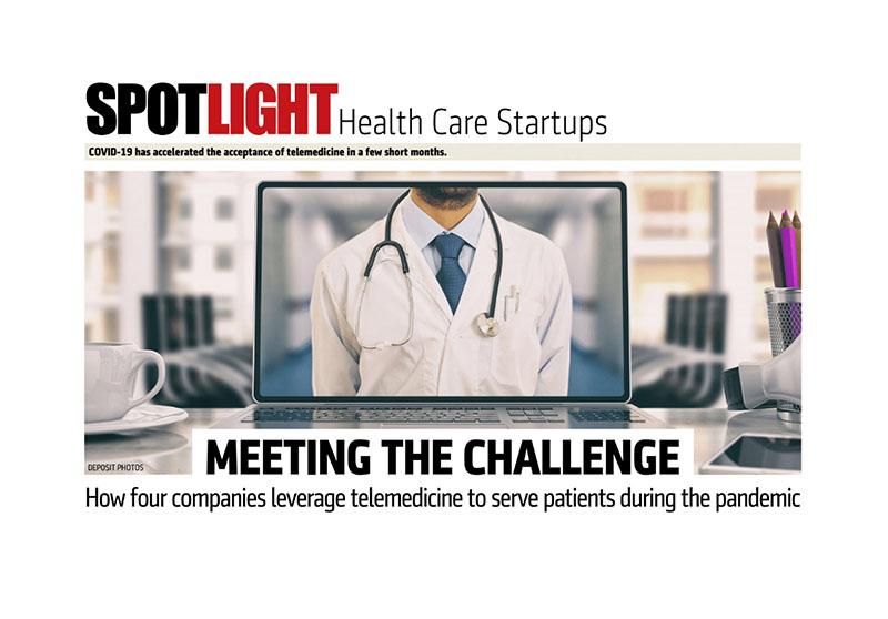 Mark Kolb's story in NJBIZ's Spotlight Section Health Care Startups