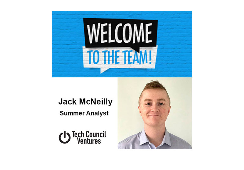 John McNeilly joins Tech Council Ventures as Summer Analyst