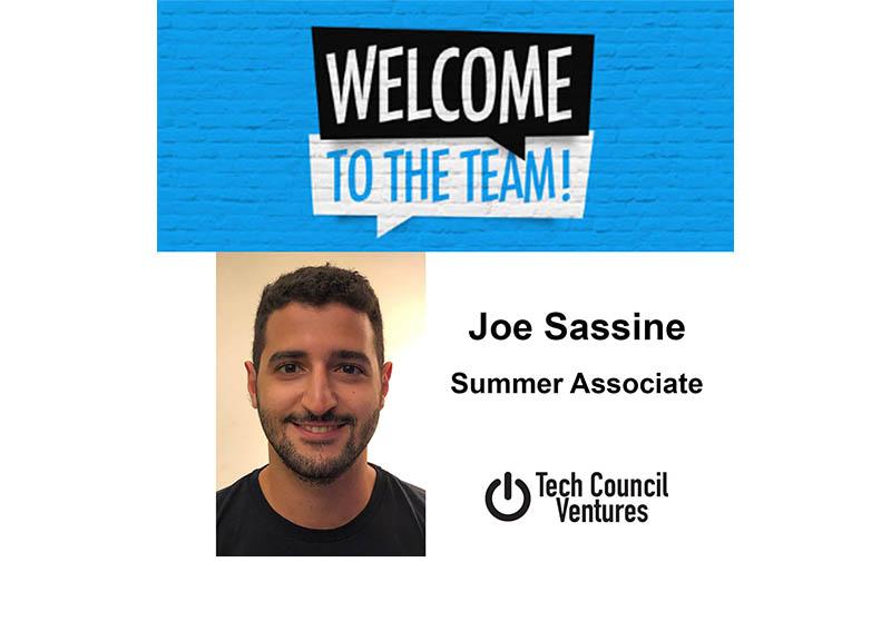 Joe Sassine joins Tech Council Ventures as Summer Associate